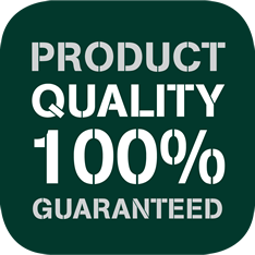 Product Quality 100% Guaranteed